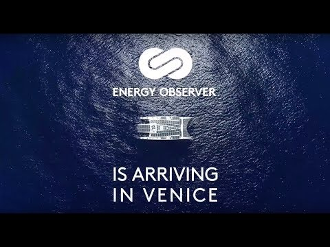 Energy Observer - The first hydrogen vessel around the world is coming to Venice!