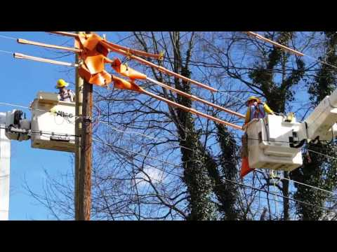 Duke Energy Utility Pole Replacement - 2/24/2017