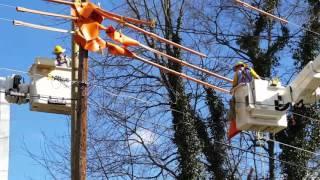 Duke Energy Utility Pole Replacement - 2/24/2017
