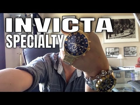 Invicta Specialty Watch Review