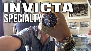 Invicta Watches Review : Invicta Specialty Watch