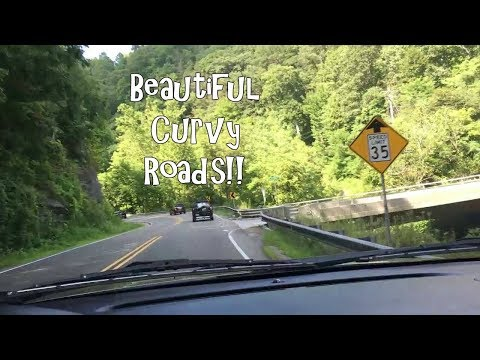 Short drive through Ashe County, NC // travel video