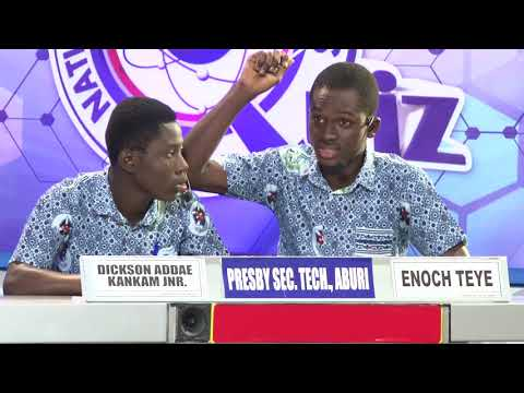 NSMQ2016: Ghana National College- Presby SHTS, Aburi- Pope John SHS