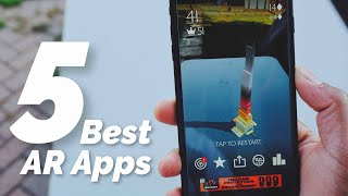 iOS 11: Top 5 Best AR Apps! (Augmented Reality)