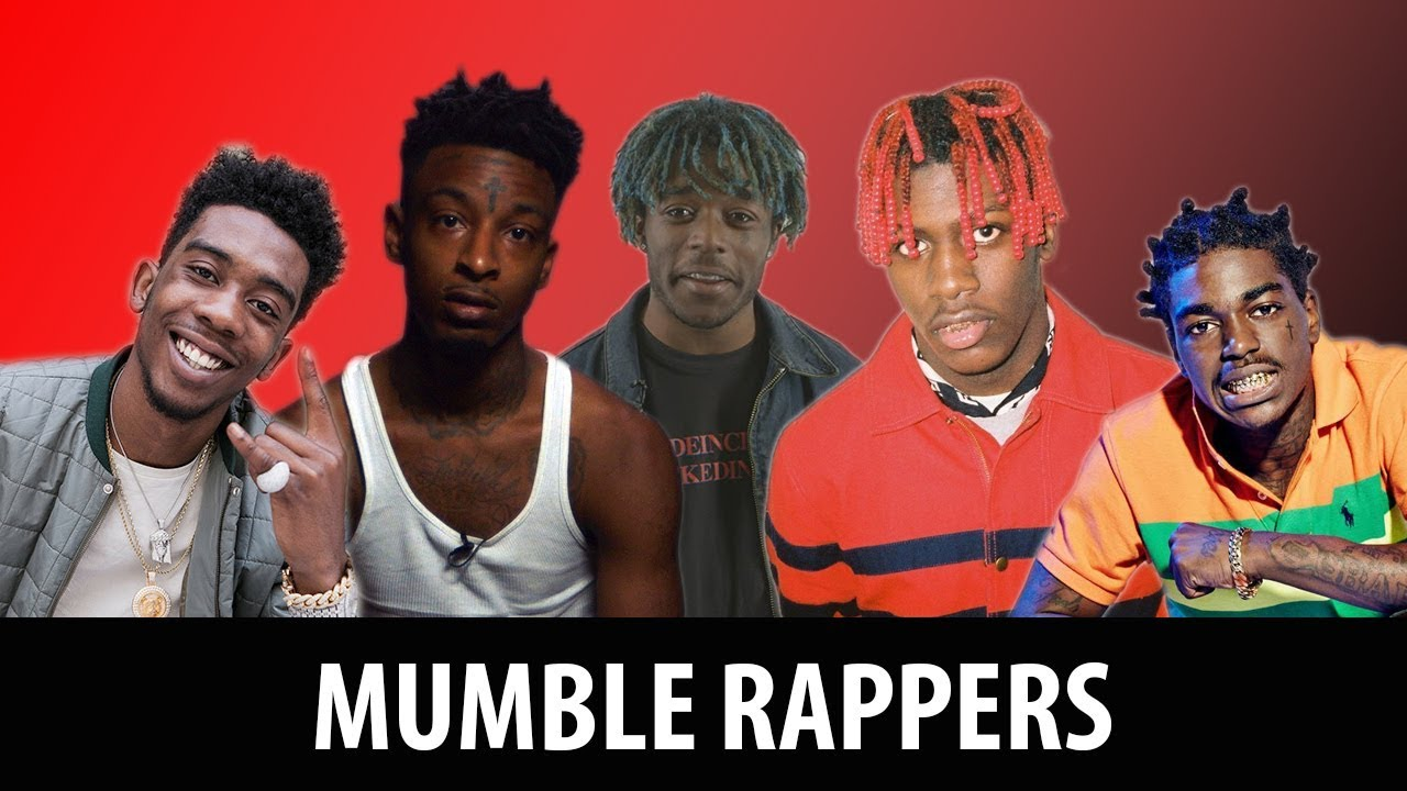 TOP THREE MUMBLE RAPPERS IN THE GAME - YouTube