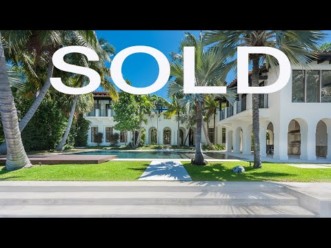 Majestic Waterfront Mansion for Sale in Miami Beach - 2318 North Bay Road, Listed by Nelson Gonzalez