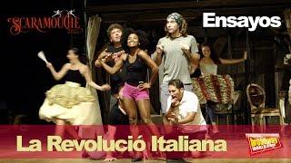 SCARAMOUCHE, EL MUSICAL - La Revolució Italiana (Ensayos, Teatre Victòria)