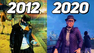 Evolution of Watch Dogs Games 2012-2020