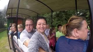 ВЕНТСПИЛС ПРОГУЛКА НА ПОРОВОЗИКЕ / Детский парк и гора Лемберга