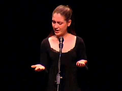 """Learning Recitation: Allison Strong reads """"My Mistress' Eyes..."""" by William Shakespeare"""