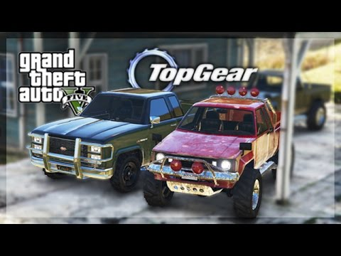 GTA 5 Online - (Top Gear Edition) Budget Pickup Truck Challenge!