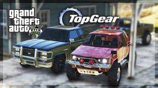 GTA 5 Online - (Top Gear Edition) Budget Pickup Truck Challenge!