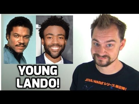 Donald Glover Cast as Lando Calrissian in Han Solo Star Wars Film!
