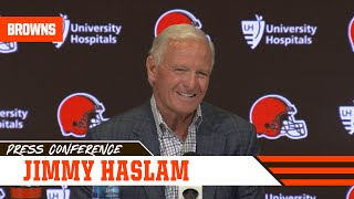 Jimmy Haslam discusses plan for head coach, general manager searches