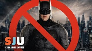 Ben Affleck Officially OUT as Batman - SJU