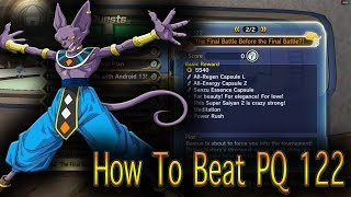 How To Beat Parallel Quest 122 ( EASY WAY ) DragonBall Z Xenoverse 2 Tips
