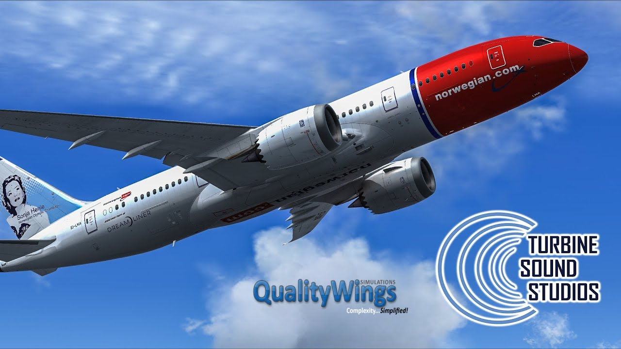 TSS - Trent-1000 with Qualitywings Boeing 787 - Preview