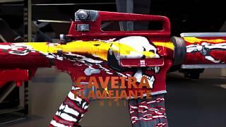 Arma Royale: M4A1 CAVEIRA FLAMEJANTE | FREE FIRE