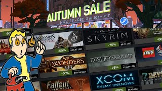MY HOT TAKE On The Steam Autumn Sale 2019!
