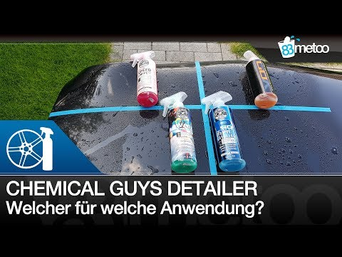 Chemical Guys Detailer Vergleich | Chemical Guys Speed Wipe, After Wash, V07, P40 Detailing Spray