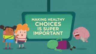 Making healthy choices is always a good idea! just take it from our brain power team.