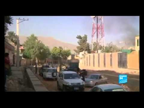 Kabul presidential palace attacked by Taliban