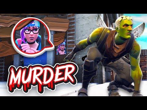 WÜRDEST DU IHM VERTRAUEN?! | Fortnite MURDER Modus!