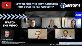 Community Partners: How to find the best partners for your hyper-growth? Unleash power of Startups!