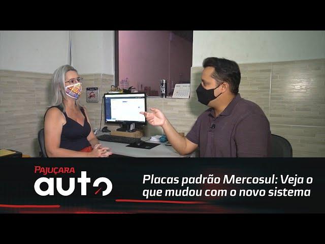 Placas padrão Mercosul: Veja o que mudou com o novo sistema.