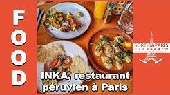 INKA, le restaurant péruvien à Paris | SORTIRAPARIS