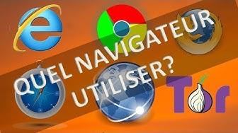Quel navigateur utiliser pour surfer sur internet?