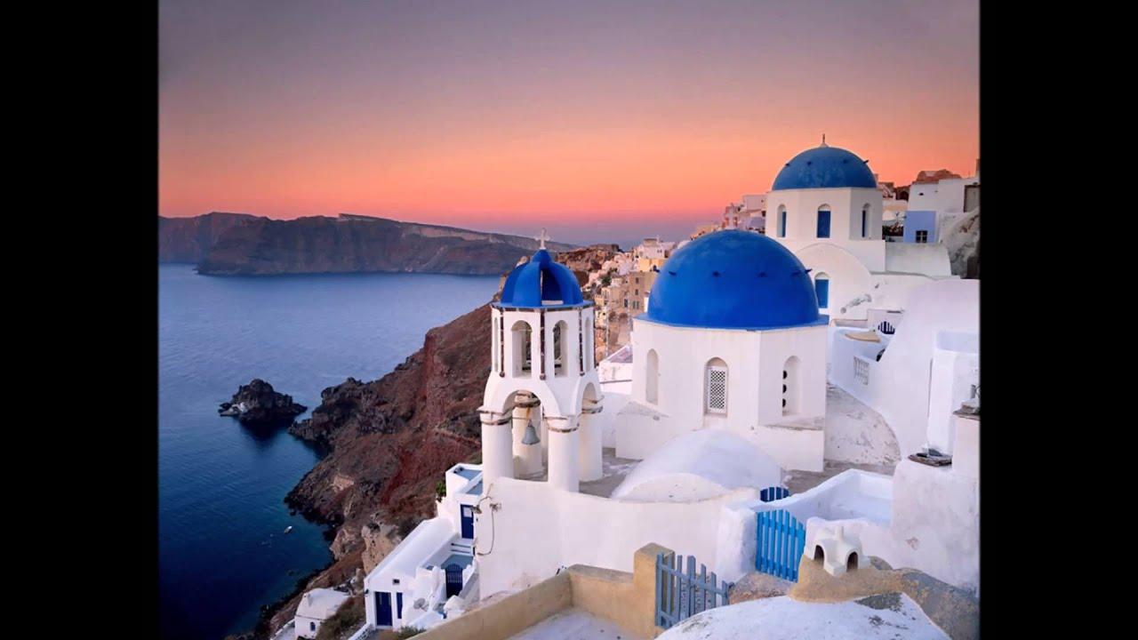 Santorini grecia youtube for La pietra tradizionale casa santorini