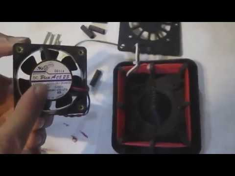 Little Giant 9300 Incubator Fan Installation - YouTube