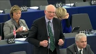 Contradictory amendments under a single bloc-vote - Stuart Agnew MEP