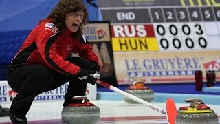 CURLING: SUI-SWE Euro Chps 2013 - Women Draw 4