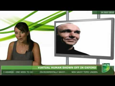 Virtual human shown off in Oxford