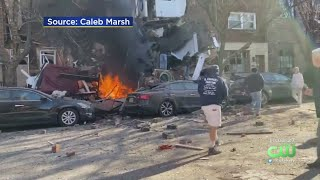 At Least Two People Presumed Dead In House Explosion, Fire In South Philadelphia