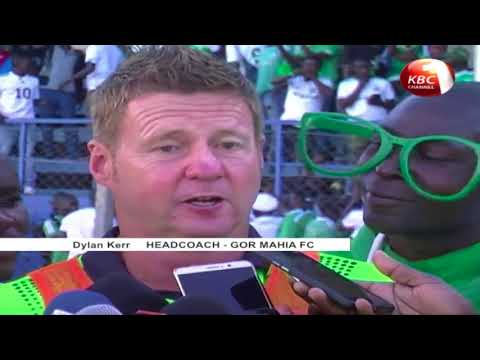 Tuyisenge scores a penalty to help Gor Mahia win against Supersport United