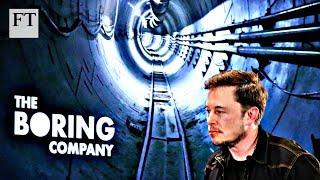 Elon Musk's plans for tunnel travel