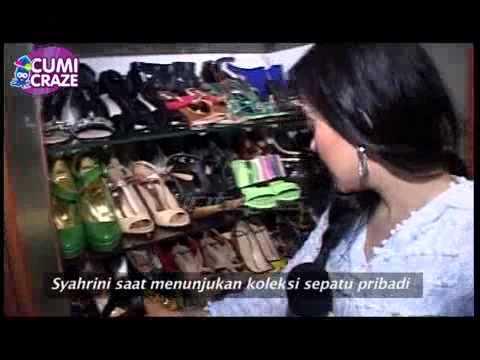 Syahrini Dan Koleksi Sepatunya - cumicumi.com