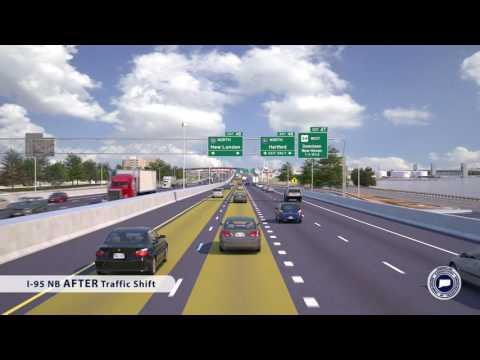 I-95 NB/I-91 NB Traffic Shift