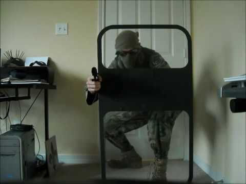 homemade riot shield  modern warfare riot shield