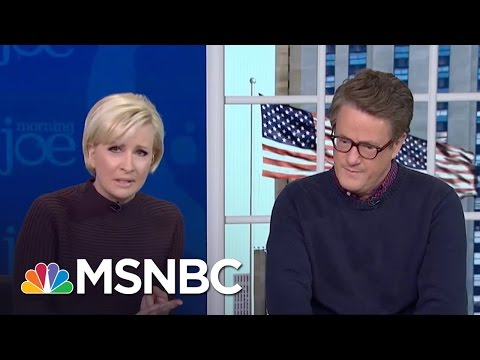 Mika: President Donald Trump Should Have Addressed Women's Marches | Morning Joe | MSNBC