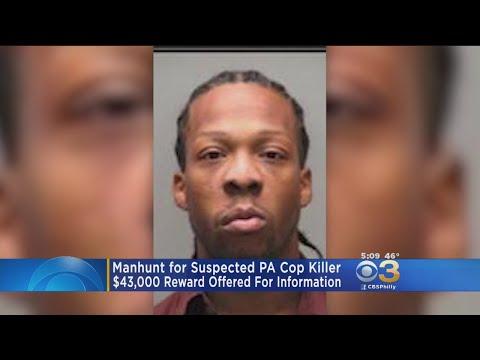 $43,000 Reward Offered In Killing Of Pennsylvania Cop