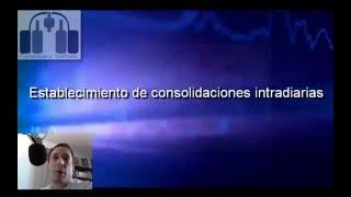 Establecimiento de consolidaciones intradiarias