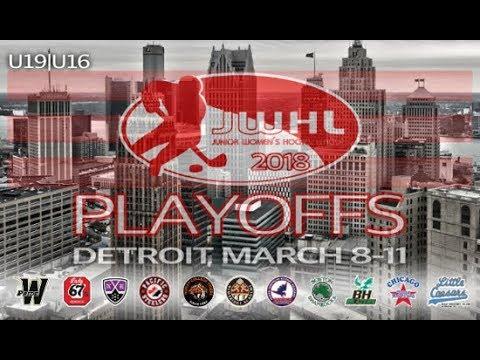 JWHL Playoffs Ridley vs Balmoral 4th  vs 3rd Place U-19  Trenton McInemey's Arena) 2018