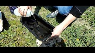 Чем отмыть поддон двигателя ваз 2111