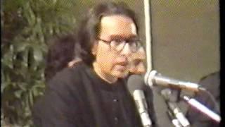 Mushaira Iftikhar Arif, Prof Peerzada Qasim Mushaira Washington DC 1990