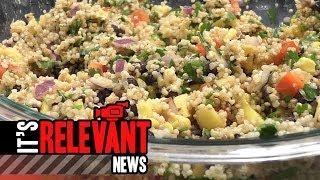 Healthy Black Bean Quinoa Salad Recipe From Stamford Based Dietician