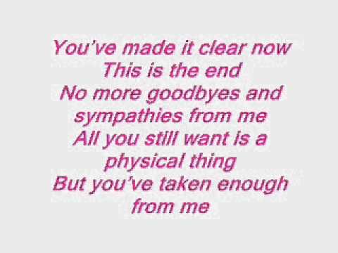 Armin van Buuren Feat Jennifer Rene - Fine Without You Lyrics